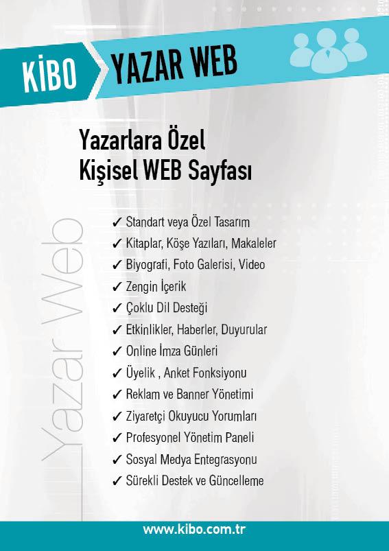 KiBO Yazar Web